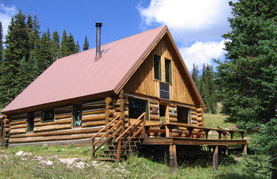 Log Homes in Minturn, CO On Open House Saturday 8/21/10!