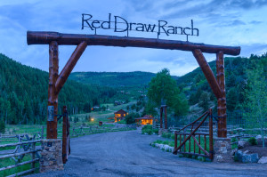 Red Draw Ranch - entrance
