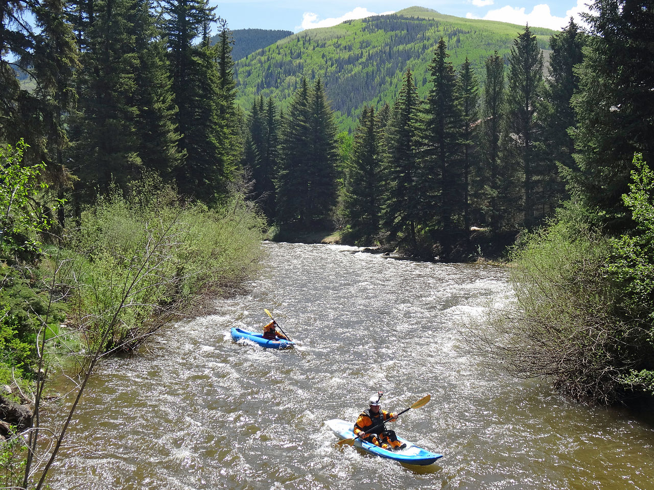 Gore Creek in Vail, Colorado