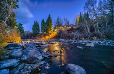 Exquisite, Private Estate on the Eagle River just outside Vail, Co